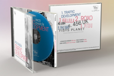 Traffic Development, diseño de CD para FreeCode Jazz Records | Diseño ATDP